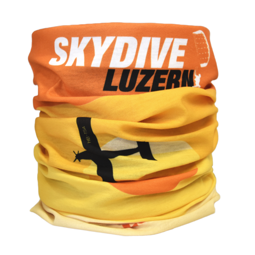 Skydive Luzern Buff Orange